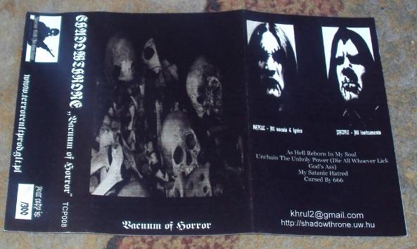 Shadowthrone - Vacuum of Horror