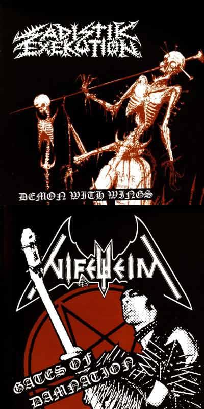Nifelheim / Sadistik Exekution - Tribute to Slayer Magazine