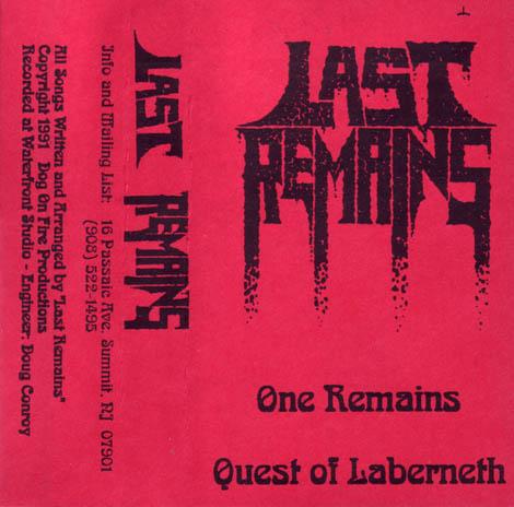 Last Remains - Demo 1991