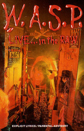 "True Metal Torrents    W A S P  ""Live    In The Raw"" Vinyl Rip S preview 0"