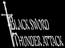 Black Sword Thunder Attack - Logo