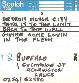 Buffalo - In the Flesh