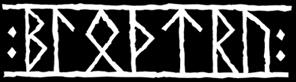 Blóðtrú - Logo