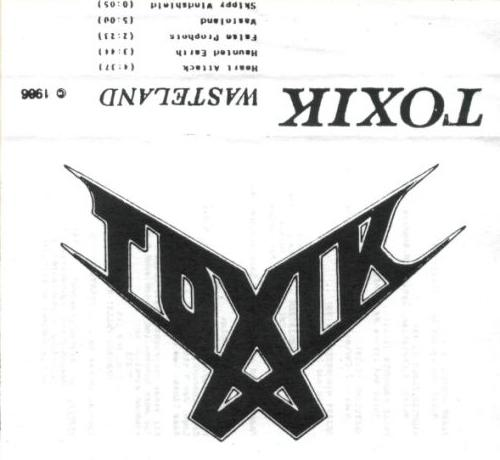 Toxik - Wasteland