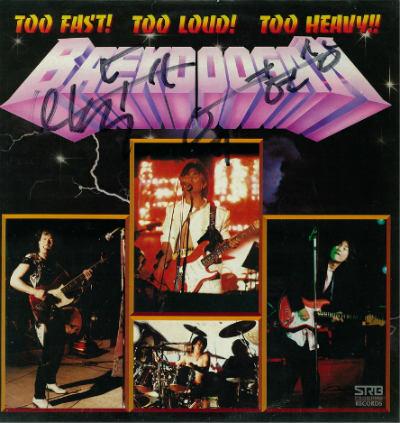 Baekdoosan - Too Fast! Too Loud! Too Heavy!!