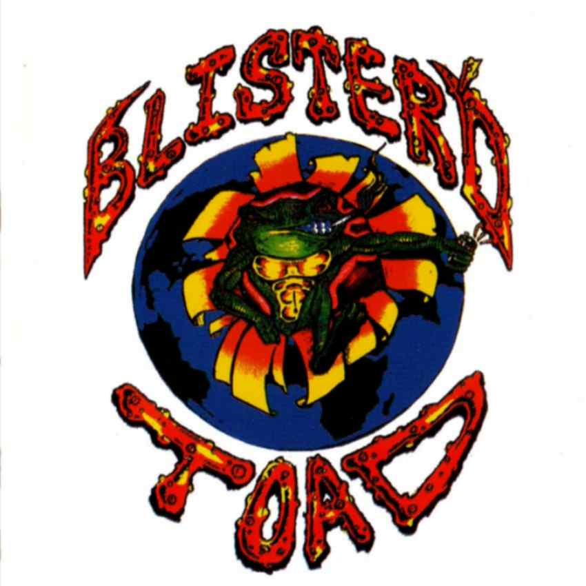 Blister'd Toad - Logo