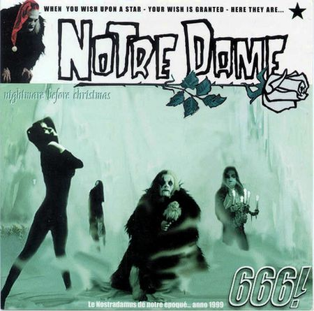 Notre Dame - Nightmare Before Christmas