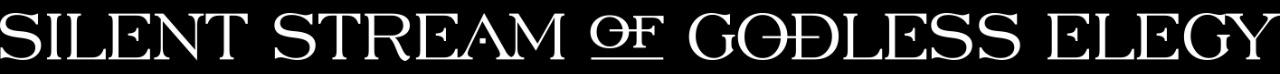 Silent Stream of Godless Elegy - Logo
