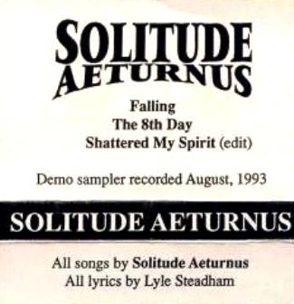 Solitude Aeturnus - Promo