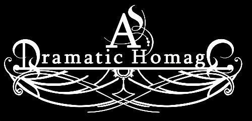 As Dramatic Homage - Logo