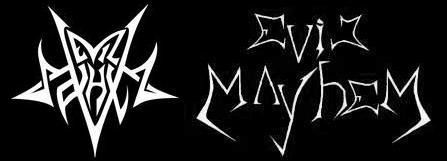 Evil Mayhem - Logo