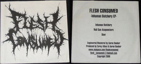 Flesh Consumed - Inhuman Butchery