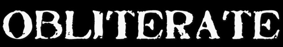 Obliterate - Logo