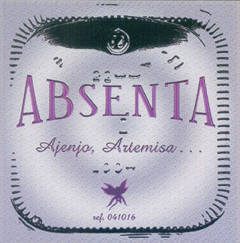 Absenta - Ajenjo, Artemisa...
