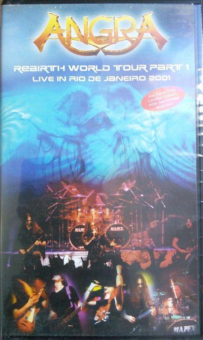 Angra - Rebirth World Tour Part 1 (Live in Rio de Janeiro 2001)