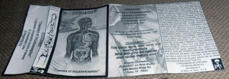 Ossuarist - Themes of Intussesception