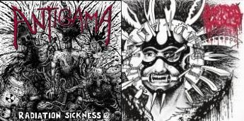 Bastard Saints / Antigama - Radiation Sickness / Thirteen Stabwounds