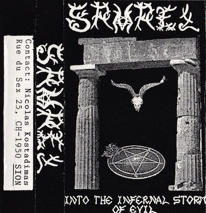 Samael - Into the Infernal Storm of Evil