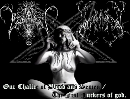 Lux Eterna du Mal - Our Chalice of Blood and Semen / The Fist Fuckers of God