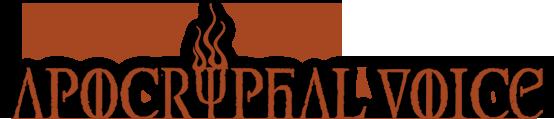 Apocryphal Voice - Logo