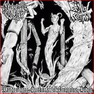 Nocturnal Vomit / Bestial Raids - Pandemonic Outburst of Impious Doom