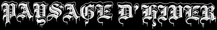 Paysage d'Hiver - Logo