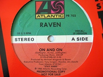 Raven - On and On