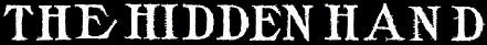 The Hidden Hand - Logo