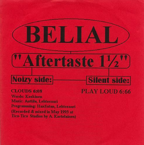 Belial - Aftertaste 1 1/2