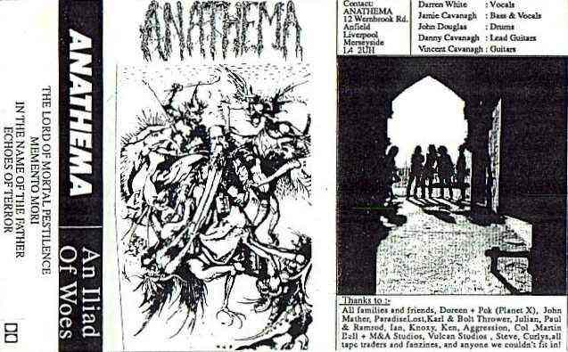 Anathema - An Iliad of Woes