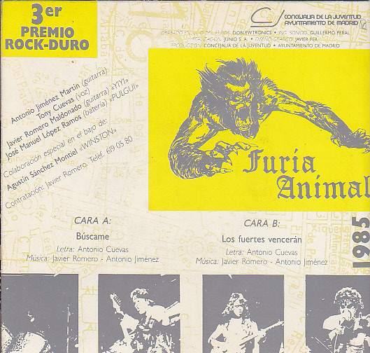 Furia Animal - Búscame / Los fuertes vencerán
