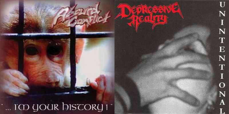 Absurd Conflict / Depressive Reality - I'm Your History! / Unintentional