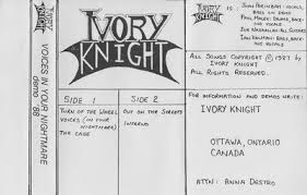 Ivory Knight - Voices in Your Nightmare
