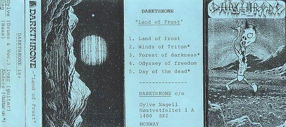 <br />Darkthrone - Land of Frost