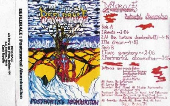 Deflorace - Postmortal Abomination