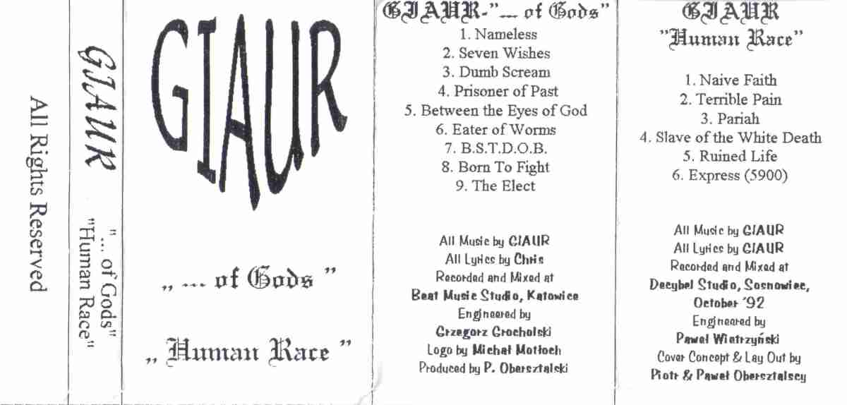 Giaur - ...of Gods
