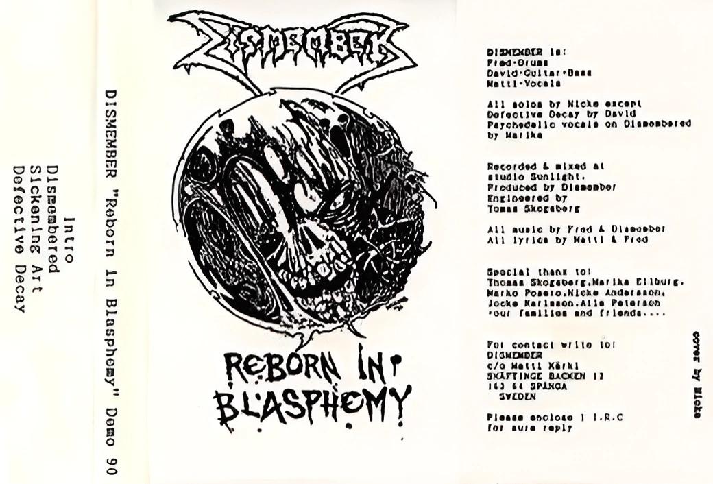 Dismember - Reborn in Blasphemy