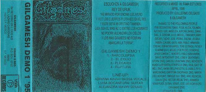 Gilgamesh - Demo 1 '95