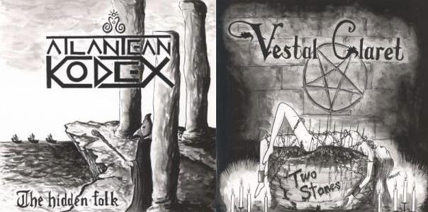 Vestal Claret / Atlantean Kodex - The Hidden Folk / Two Stones