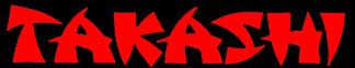 Takashi - Logo