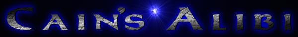 Cain's Alibi - Logo