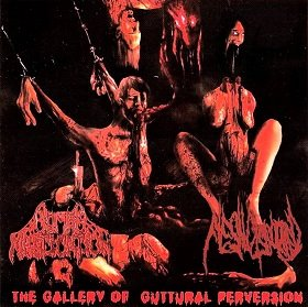 Human Mastication / Flesh Disgorged - The Gallery of Guttural Perversion