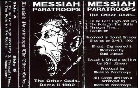 Messiah Paratroops - The Other Gods...