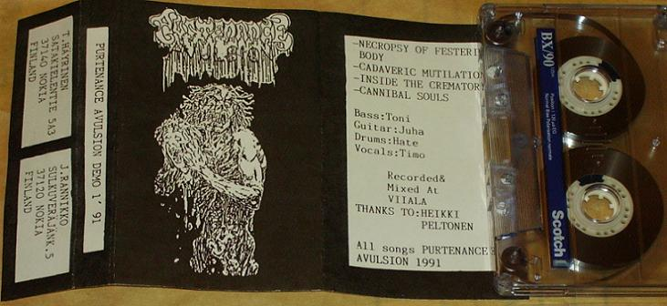 Purtenance Avulsion - Demo 1 '91
