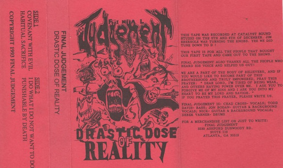 Final Judgement - Drastic Dose of Reality