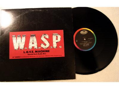 W.A.S.P. - L.O.V.E. Machine promo
