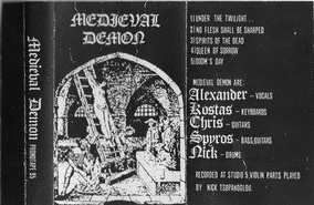 Medieval Demon - Promo Tape 95