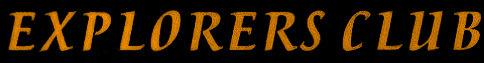 Explorers Club - Logo