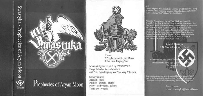 Swastyka - Prophecies of Aryan Moon