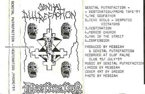 Genital Putrefaction - Destination